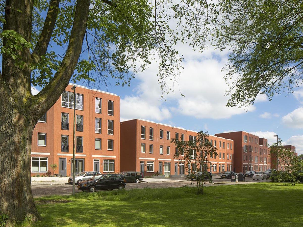 Utrecht het stadse huis fase 1 nijhuis bouw b v for Huis utrecht